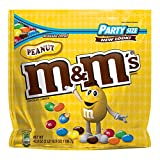 M&MS Peanut Chocolate Candy Party Size 42-Ounce Bag (Pack of 2)