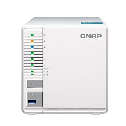 QNAP TS-351 (2GB RAM) 3-Bay Personal Cloud NAS Ideal for RAID5 Storage  Processors (TS-351-2G-US)