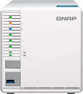 QNAP TS-351 (4GB RAM) 3-Bay Personal Cloud NAS Ideal for RAID5 Storage Processors (TS-351-4G-US)