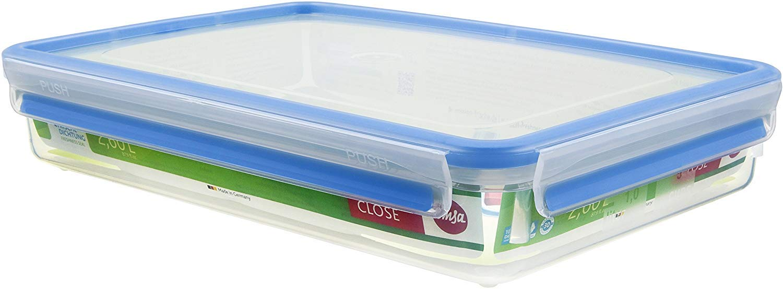 Emsa Clip & Close Conservador Hermético de Plástico Rectangular de ...