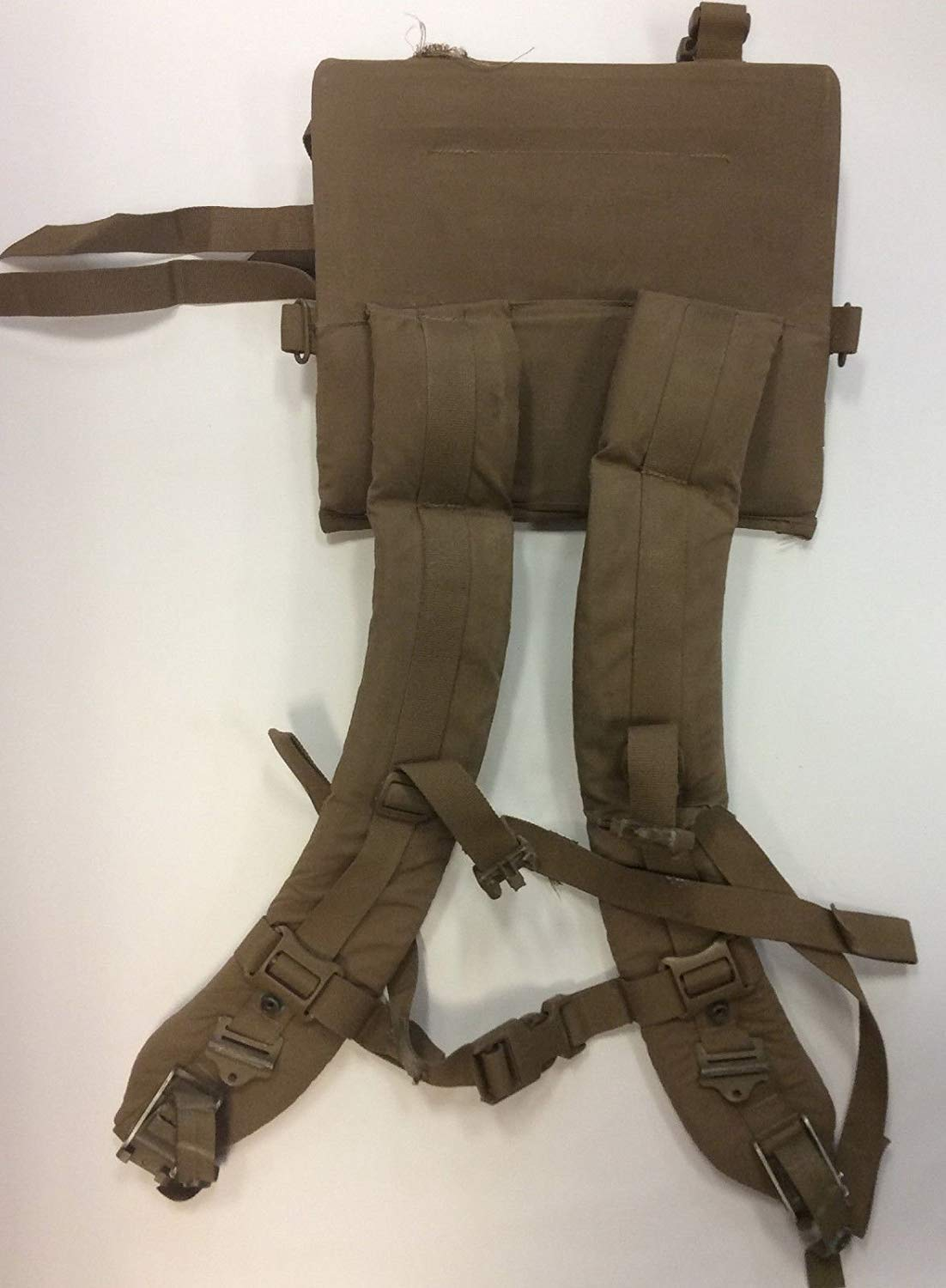FILBE Main Pack Shoulder Straps USMC Coyote Brown Tan Harness Assembly GOOD