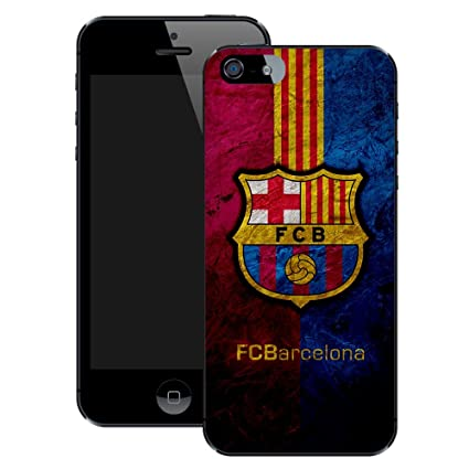 Amazon.com: FC Barcelona | Handmade | iPhone 5 5s | Black Case