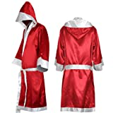 Phoenixb2c Boxing Robe with Hood Boxing Robe for