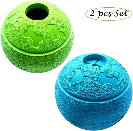 Basic Pelota de juguete para perro, bola de goma para comida ...