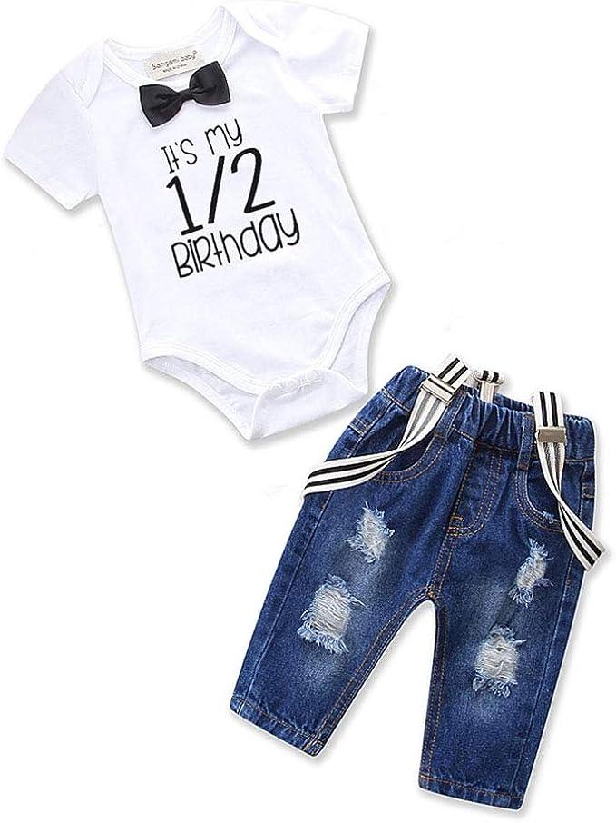 Amazon.com: Conjunto de ropa para bebés y niños pequeños ...