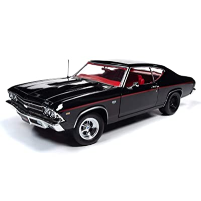American Muscle - Diecast Model Cars - 1969 Chevrolet Chevelle SS396-1/18 Scale Die Cast Replica: Automotive