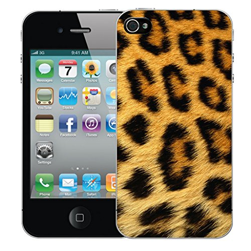 Mobile Case Mate iPhone 5c Silicone Coque couverture case cover Pare-chocs + STYLET - Leopard Fur pattern (SILICON)
