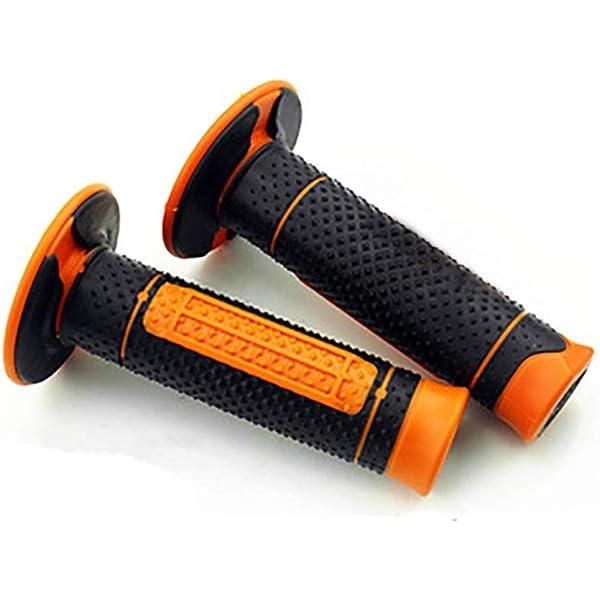 7//8 GEL Handle bar End Motorcycle Hand Grips fit KTM Duke 125 200 14-18 Duke390