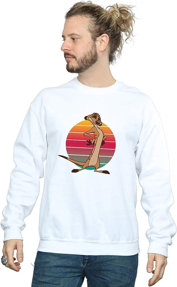 Disney Hombre The Lion King Timon Sunset Camisa De Entrenamiento Blanco XXXXX-Large: Amazon.es: Ropa y accesorios