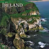 Ireland 2019 12 x 12 Inch Monthly Square Wall Calendar, Scenic Travel Dublin Irish (Multilingual Edition)