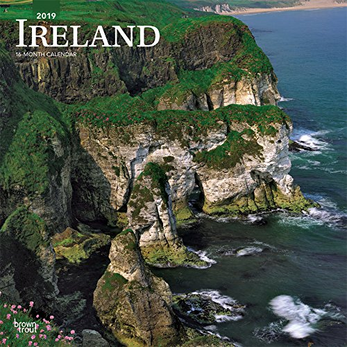 (Ireland 2019 12 x 12 Inch Monthly Square Wall Calendar, Scenic Travel Dublin Irish (Multilingual Edition))