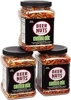 product image for BEER NUTS Cantina Mix - 26 oz. Jar (Pack of 3), Original Peanuts, Chili Lemon Roasted Corn, Black Bean Sticks, Guacamole Bites
