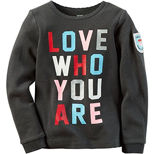 Carters Girls 2T 8 Love Who You Are Tee 4T