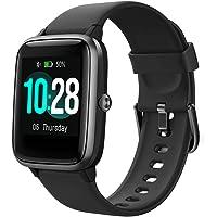 """Smartwatch, Fitness Tracker IP68 Waterdicht Heren Dames Kinderen 1,3 """"Touchscreen Activity Tracker met Hartslag…"""