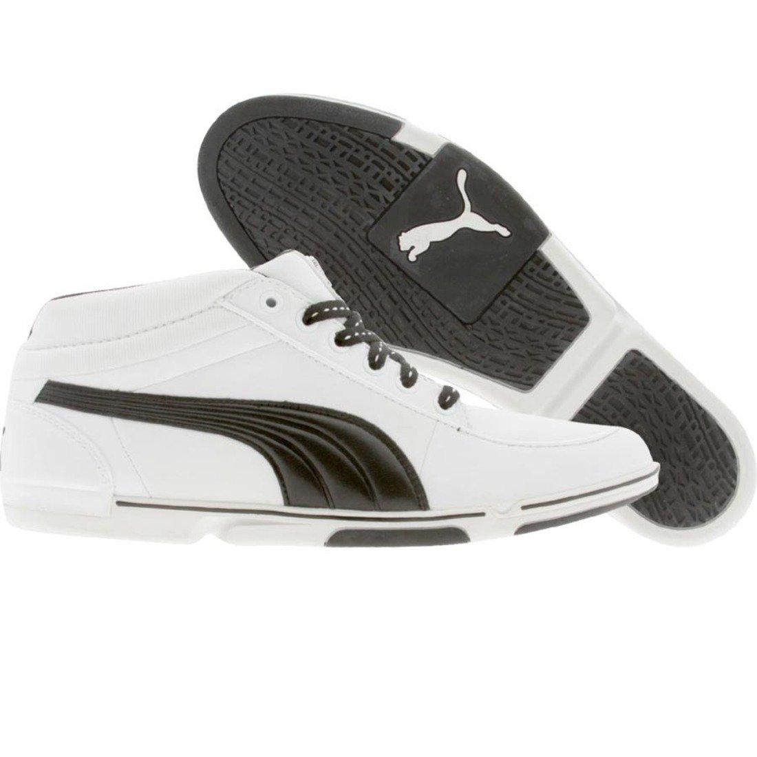 PUMA Unisex 65CC Sneaker,White/Black/White,US Women's 13.5 B/US Men's 12 D by PUMA