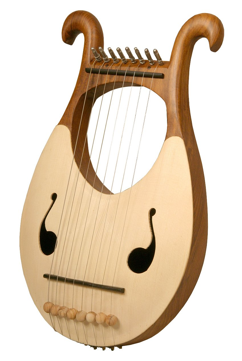 Mid-East Lyre Harp, 8 String by Mid-East
