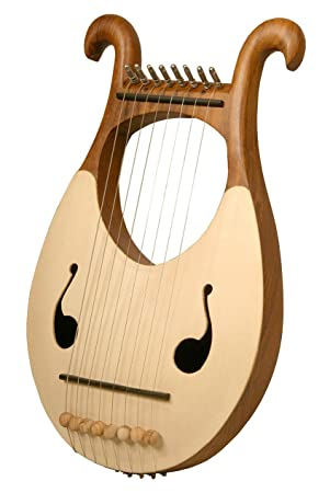 Lyre Harp, 8 String - Mid-East: Amazon ca: Musical