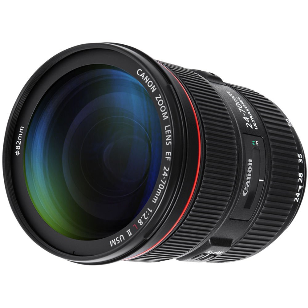 Canon EF 24-70mm f/2.8L II USM Lens with Professional Bundle Package Deal Kit for EOS 7D Mark II, 6D Mark II, 5D Mark IV, 5D S R, 5D S, 5D Mark III, 80D, 70D, 77D, T5, T6, T6s, T7i, SL2 by Canon (Image #3)