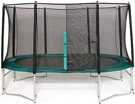 Francia trampolín Cama elástica Oval 3 longueurs Disponible: 360 cm – 430 cm – 490 cm: Amazon.es: Deportes y aire libre
