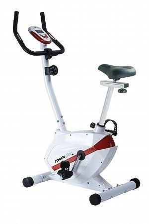 SportPlus SP-HT-2408-R Bicicleta Estática para el Hogar con ...