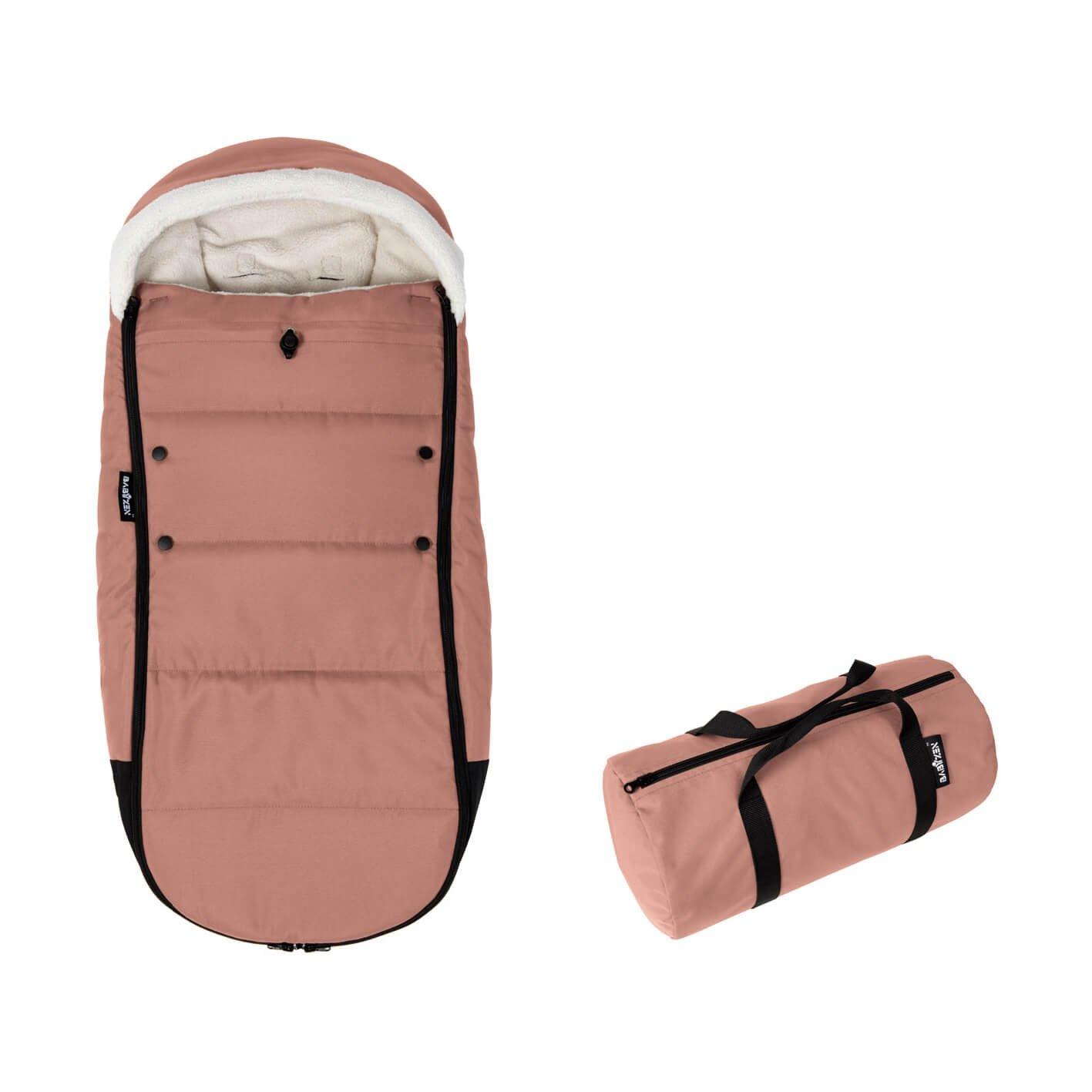 BabyZEN Fußsack für YOYO+-Kinderwagen ingwer