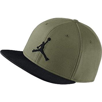 Nike Jordan Jumpman–Tapa, Unisex Adulto, 861452-395, Olive Canvas/(Black), Talla única