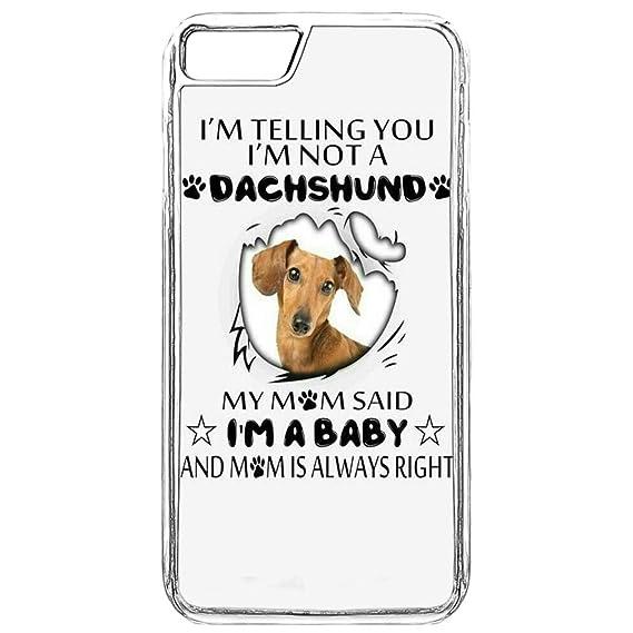 Amazon com: Case for iPhone 7 Plus Dachshund,iPhone 8 Plus