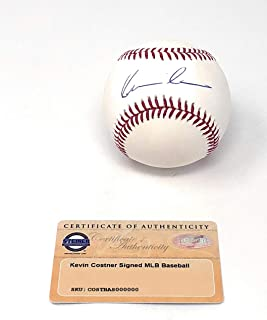 Kevin Costner Bull Durham Field Of Dreams Signed Autograph Official MLB Baseball Steiner Sports Certified