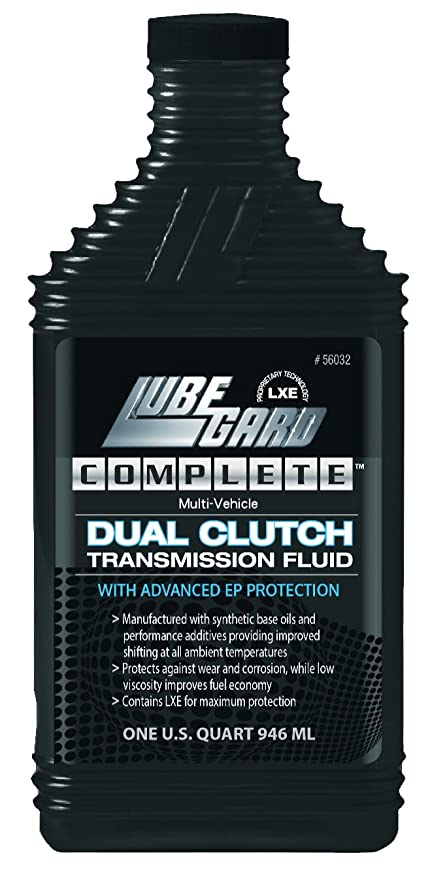 Amazon.com: Lubegard 56032 Complete Multi-Vehicle Dual Clutch Transmission Fluid for Wet Clutch Application, 32 oz.: Automotive