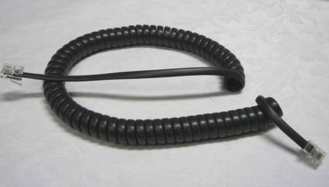 Lot of 100 Dark Gray (Black) 9' Ft Phone Handset Cords for Nortel Norstar T7100 T7208 T7316 T7316e Meridian T M3900 Series M3901 M3902 M3903 M3904 M3905 Aastra M8003 M8009 Charcoal by DIY-BizPhones