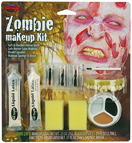 Scary Zombie Makeup Kit - ST ()