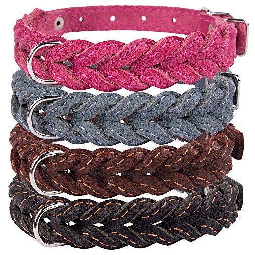 Handmade Leather Dog Collars - 4