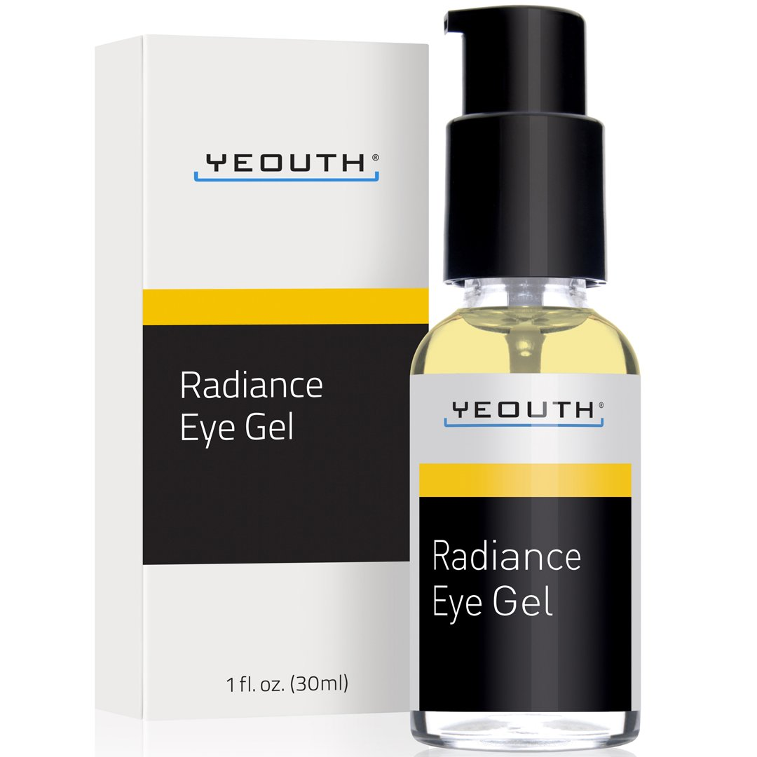 YEOUTH Eye Gel Cream for Anti Aging, Wrinkle Cream, Dark Circles, Puffy Eyes, Eye Bags, Crows Feet, with Hyaluronic Acid Serum and Tripeptide - 100% Guaranteed