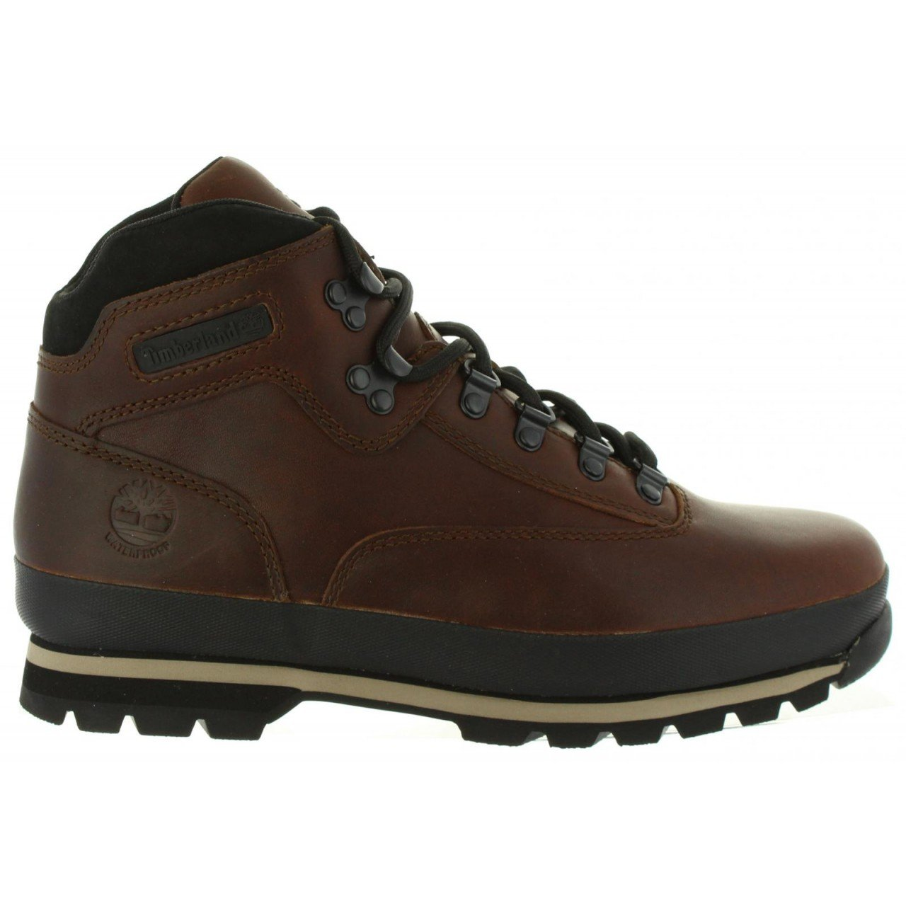Timberland - Euro Hiker Leather Homme - marron - 41