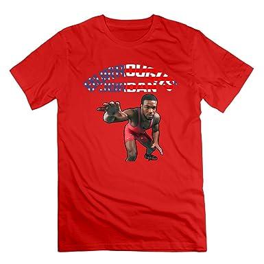 1dc141c439a Amazon.com: Jordan Burroughs Men's Sport T Shirt For Man: Clothing