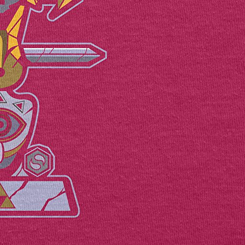 TEXLAB - Triforce Totem - Damen Kapuzenpullover, Größe S, fuchsia