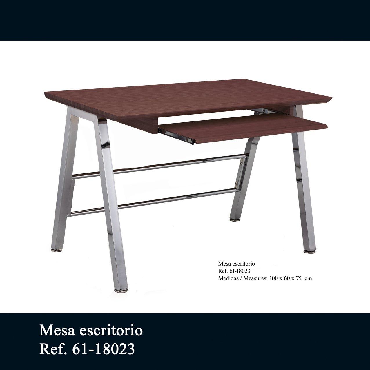 Clements Mesa Escritorio en Madera Caoba: Amazon.es: Hogar