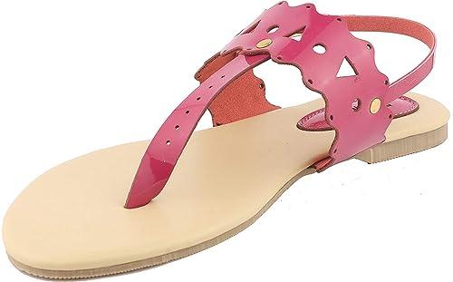 Buy Typo Pink Flats Pink  Pink Sandals