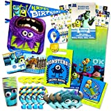 monsters inc 1 toys - Monsters Inc Party Supplies Ultimate Set -- Plates, Cups, Napkins, Table Cover and Stickers!