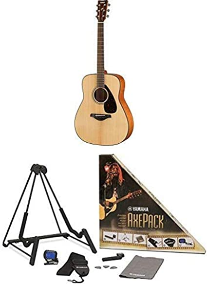 Amazon Com Yamaha Fg800 Solid Top Acoustic Guitar With Axe Pack Guitar Accessory Kit For Electric Acoustic Guitar Musical Instruments