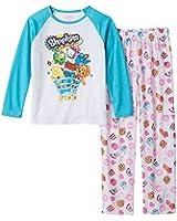 Shopkins Pajamas Girls 2 Piece Set Long Sleeve