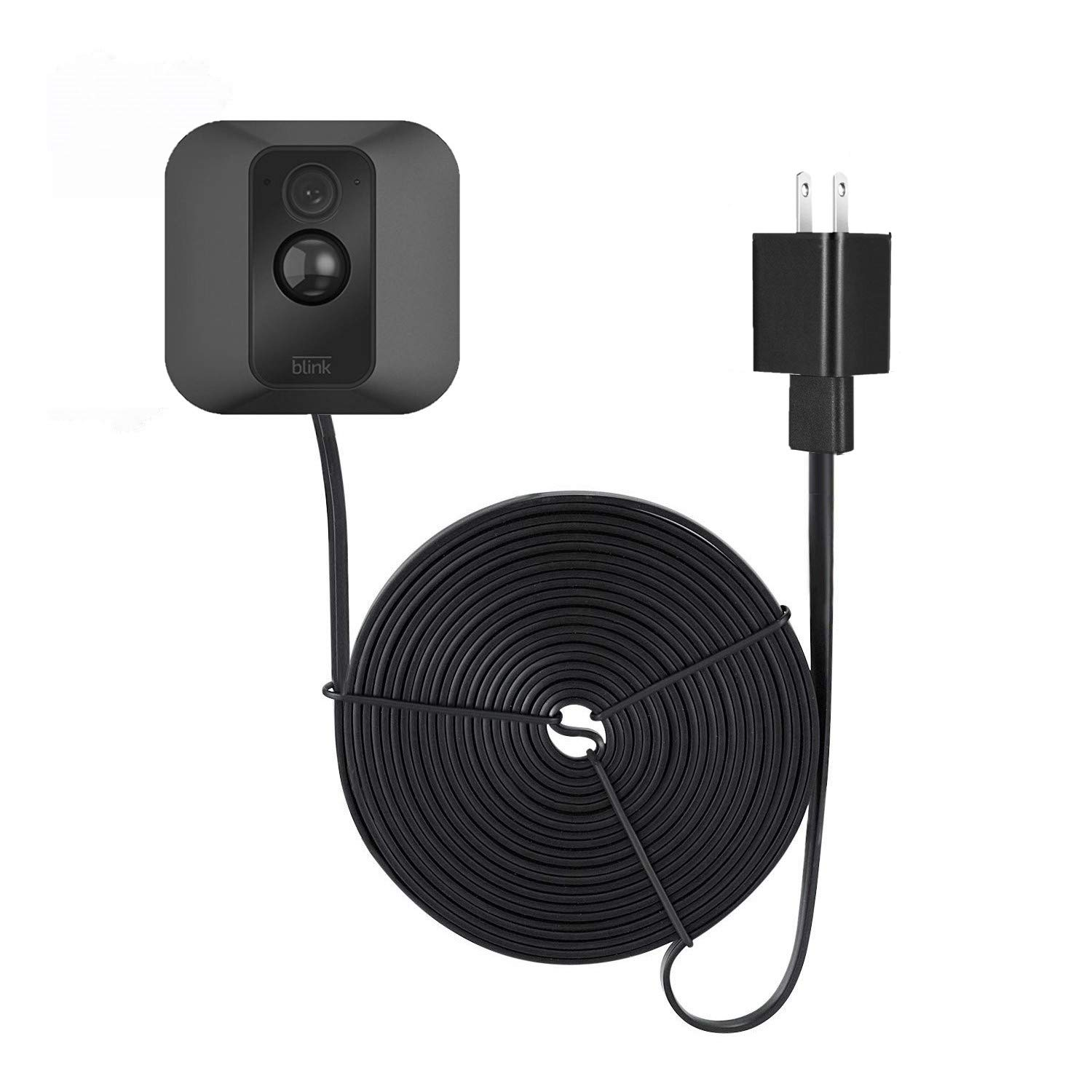 Weatherproof Power Cable for Blink XT Outdoor & Indoor Camera - Long and  Thin 16ft Cable to Continuously Operate Your Blink XT & Indoor Camera - by
