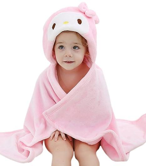 DINGANG® Albornoz para | manta para bebé | bebé toalla con capucha | con capucha