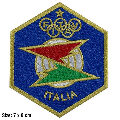PATCH,TOPPA RICAMATA TERMOADESIVA ,,FITAV federazione italiana tiro a al volo,, Patchmania