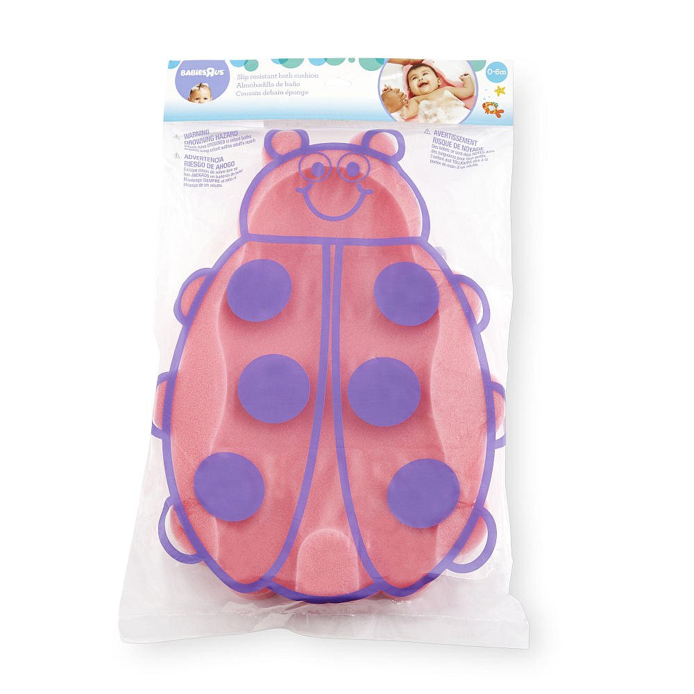 Amazon.com : Babies R Us Ladybug Bath Sponge Cushion : Baby