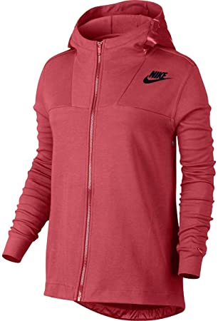 Nike W NSW Av15 Cape FLC Sudadera, Mujer: Amazon.es: Deportes y aire libre