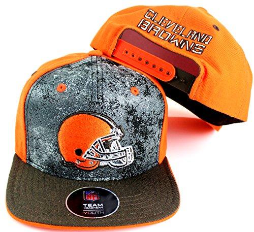 NFL Youth Size 8-20 Magna Flatbrim Adjustable Snapback Cap – DiZiSports Store