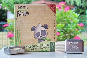 Smooth Panda Taschentucher Aus Bambus 3 Lagen 360 Stuck Amazon De