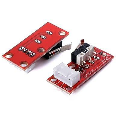 Gowoops 5 piezas de interruptor de límite de extremo mecánico con ...