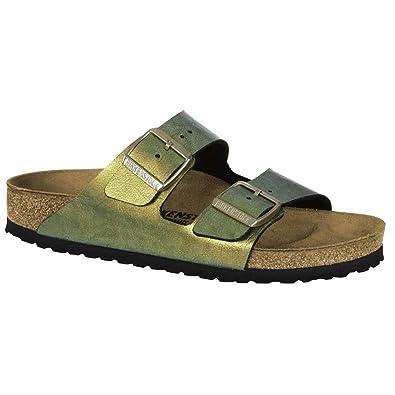 Birkenstock Schuhe Arizona Birko-Flor Graceful Schmal Graceful Gemm Gold  (1012391) 36 Multicolor 0f958f9f3d7